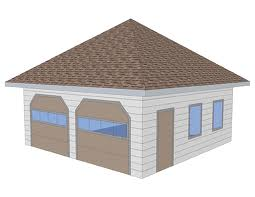 Hip Roof House